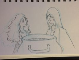Snape Doodle 270 by dragoon811