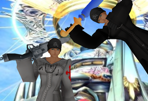 MMD Newcomer Seifer Organization XIII + DL by Valforwing