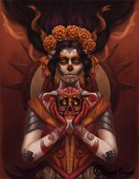 La Catrina by SynysterSoldier