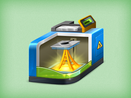 3d Printing by aha-soft-icons