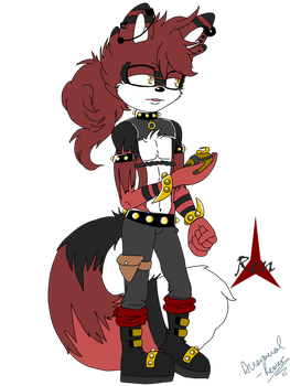 Ren the red panda by Averaval-Levor