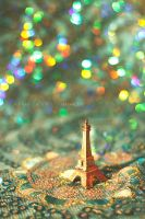 Little Eiffel Tower by 3aish