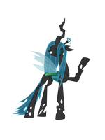 queen chrysalis vector by keeveew
