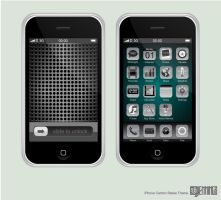 iPhone Carbon Steele Theme by Ben-Is-A-Designer