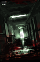 Speedpaint - Haunted Hospital by danielbogni
