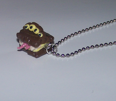 HP Monster book Necklace by PookieTookieJewelry