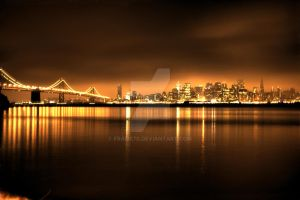 Night Lights in San Francisco by frame70