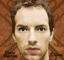 .chris martin coldplay. by dongin