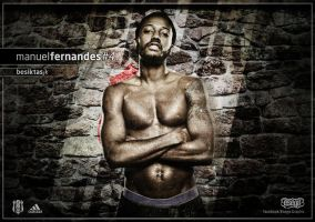 Manuel Fernandes Wallpaper by EsegaGraphic