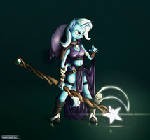 Trixie the Great and Powerful Wizard by ten-art