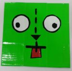 GIR's face by DuctileCreations