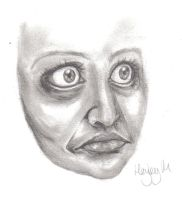 Horrible Face by hayleybaileys