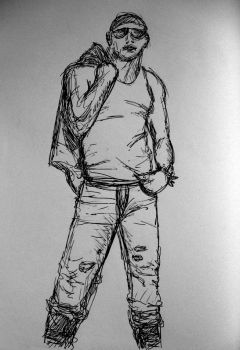 Figure Drawing Guy by PizzaParty
