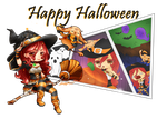 Late Happy Halloween by Captain-Gelowaggle