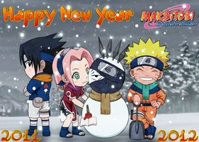 Happy New Year by Epistafy