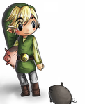 Smash Bros. Project: Toon Link by Touch-my-PIN-AS