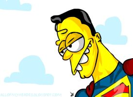 Daily Doh 13 Superman Simpsons by jeaux