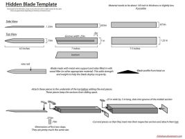 Hidden Blade Template by Enbahan