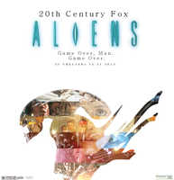 CSC: Aliens Movie Poster by Hobbes918