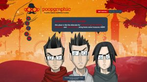 PooPgraphic website by HEVNgrafix