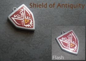 Shield of Antiquity Charm by GandaKris