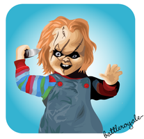CHUCKY. by BattleRoyale-