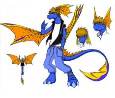Spirogs Dragon Persona by Spirogs