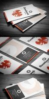 Simple Corporate Business Card by calwincalwin