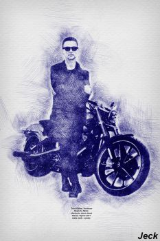 Dave Gahan . SPIRIT (Depeche Mode) by Jeck-rumbo