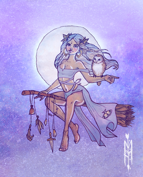 Moon Witch by Maranvee