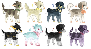 more pup adopts - closed by Adoptablue