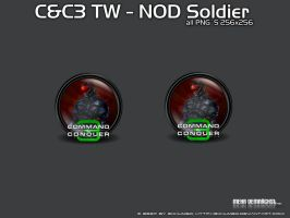 CC3 TiberiumWars NOD Soldier by 3xhumed