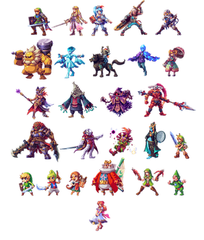 Hyrule Warriors All Stars (update) by AbyssWolf