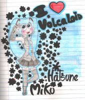 Volcaloid Miku Hatsune by Siulyvale