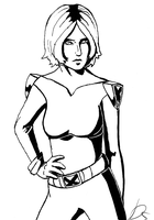 SS: Rogue Black'n'White version by Domisea