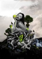 Eve with The Apple by streetatmosphere