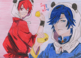Utapri: Otoya and Tokiya by Sasu22tebayo