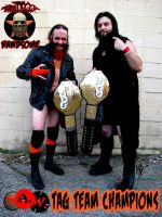 Brutally Handsome Tag Team Champions promo by MarkG72