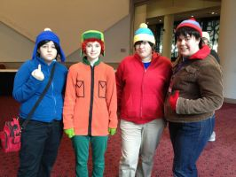 South Park - AMKE 2012 by CrimsonStarEmporium