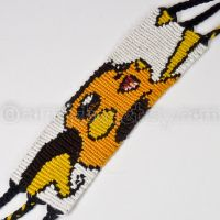 Raichu 1.5 inch Friendship Bracelet by CarrieBea