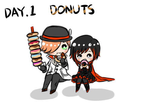 rosewick DAY.1 DONUTS by doumsnow