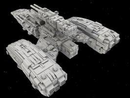 WiP7: BattleCruiser by AceDarkfire