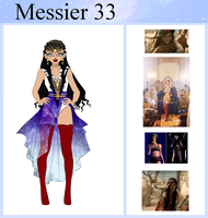 Ref: Sailor Messier 33 by ai-sanura