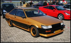 1987 Toyota Corolla Coupe by compaan-art
