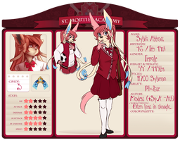 [St. Mortiel Academy] Application: Sylvia Abbott by A-Someday-Dreamer