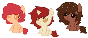 Sweet Treat Pony Adopt -Closed- by PonyPartyAdopts