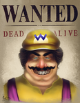 Wario by michelle-miranda