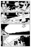 Atomic Robo vs Rasputin Page 4 by Finfrock