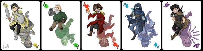 Cartes Aventures ~ by Val-07