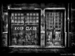 keep clear BW by shadowfoxcreative